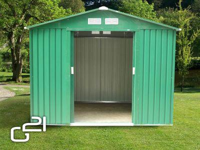 Domek ogrodowy G21 GAH 429 - 251 x 171 cm, zielony
