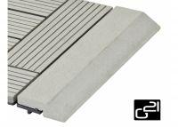 Próg Listwa G21 dla WPC rozmieszcza IncanaImpregnat, 30x7,5 cm równa