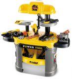 Narzędzia dla dzieci G21 stół warsztatowy żółty