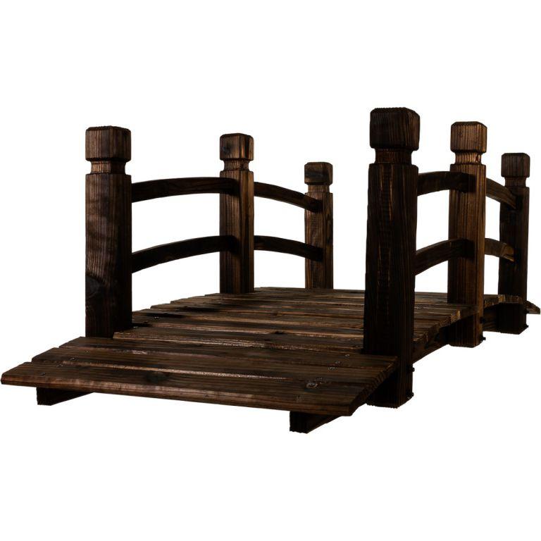 Drewniana kładka mostek ogrodowy 150 cm