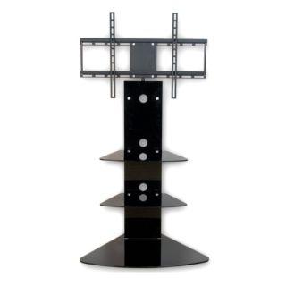 Stojący uchwyt TV z półkami ze standardem VESA 42''