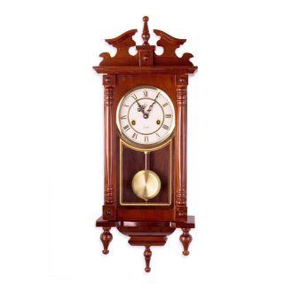 Zegar ścienny wiszący antyczny wahadłowy ORPHEUS Mahagoni 73 cm