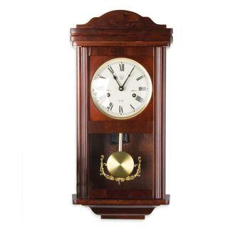 Zegar ścienny wiszący antyczny wahadłowy THESEUS Mahagoni 60 cm