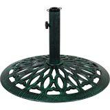Podstawa pod parasol 17 kg zielono-brązowy z patyną