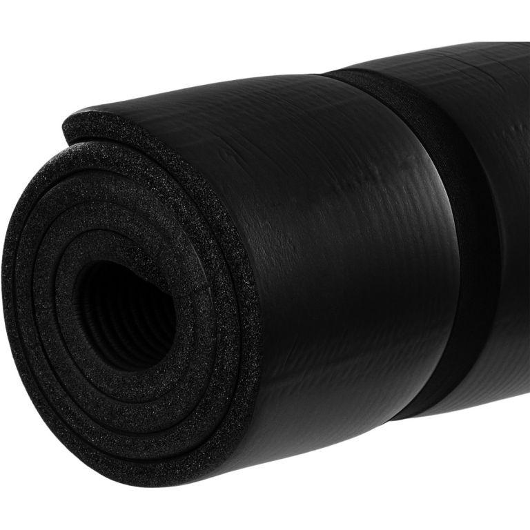 Mata piankowa MOVIT do jogi i gimnastyki 190 x 100 x 1,5 czarna