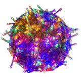 Świąteczne oświetlenie LED 10 m – kolorowe, 100 LED