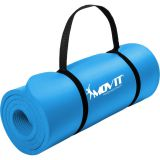 Mata piankowa MOVIT do jogi i gimnastyki 190 x 60 x 1,5 błękitna