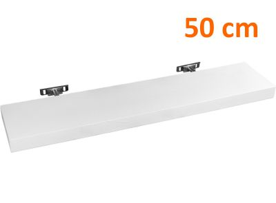 STILISTA półka ścienna Saliento długość 50 cm kolor biały