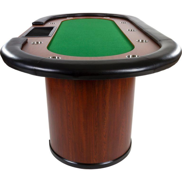 Zielony stół pokerowy XXL ROYAL FLUSH 213 x 106 x 75 cm