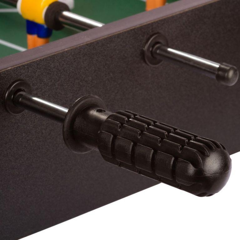 Mini piłkarzyki 51x31x8 cm, czarne