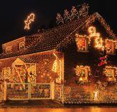 Świąteczne LED lampki - 5 m, 50 LED, ciepła biel
