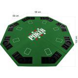 Składana mata do pokera - zielona