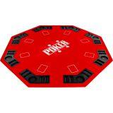 Składana mata do pokera - czerwona