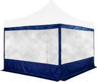 Zestaw 2 ścian bocznych na namioty INSTENT 3 x 3 m - kolor niebieski