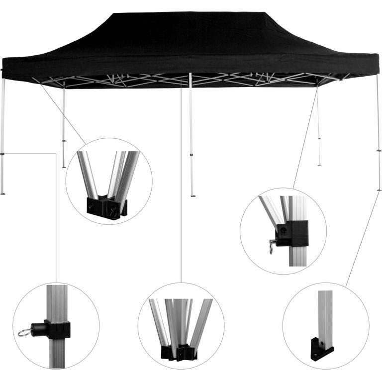 Namiot ogrodowy namiot 3 x 6 INSTENT - kolor szampan