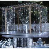 Świąteczne oświetlenie - świecąca kurtyna 3x6 m - zimne białe 600 LED