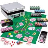 Zestaw do pokera Ultimate z akcesoriami