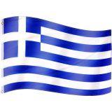 Flaga Grecji - 120 cm x 80 cm