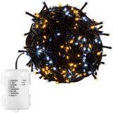 Świąteczne LED oświetlenie - 5 m, 50 LED, ciepła / chłodna