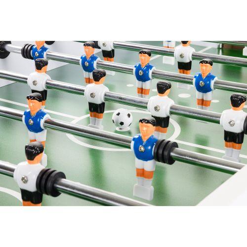 Piłkarzyki stołowe PROFI - białe