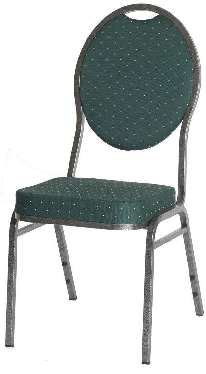 Jakościowe krzesło metalowe Monza- zielone