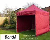 Namiot ogrodowy PROFI STEEL 3 x 4,5 - bordowy