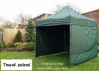 Namiot ogrodowy PROFI STEEL 3 x 4,5 - ciemnozielony