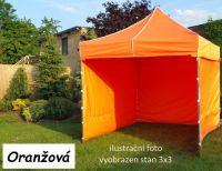 Namiot ogrodowy PROFI STEEL 3 x 6 - pomarańcz