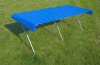 Składany / składany stolik - 2 x 1 m