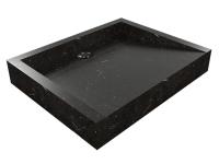 Umywalka z kamienia naturalnego Belua Black