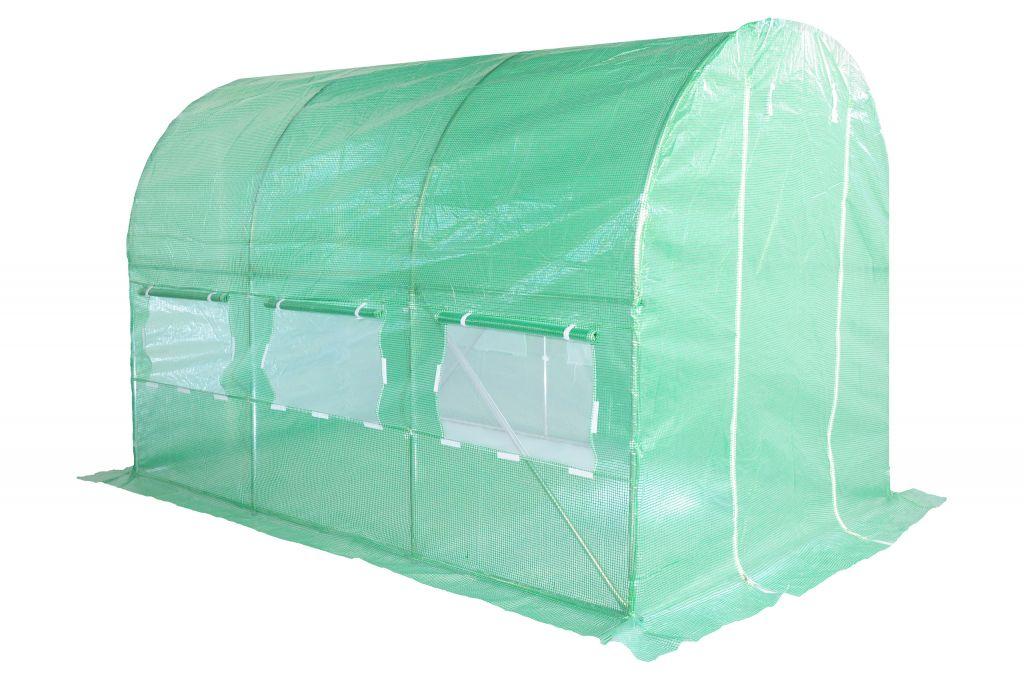 Tunel foliowy 200 cm x 300 cm (6 m2) - kolor zielony