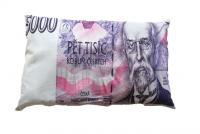 Poduszka dekoracyjna banknot -Czeski banknot  5000 CZK