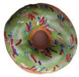 Poduszka Donut 3D - zielona