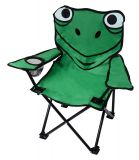 Dziecięce krzesło kempingowe FROG