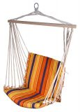 Hamak  do siedzenia 95x50 cm czerwono-pomarańczowa
