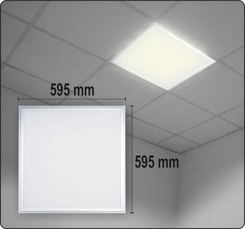 Sufitowa oprawa LED do sufitów podwieszanych