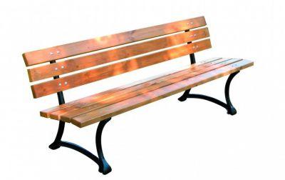 Drewniana ławka ogrodowa FSC