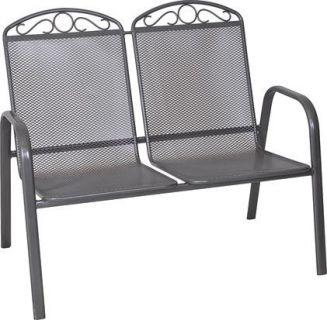 Metalowa ławka ogrodowa ZWMC-S28