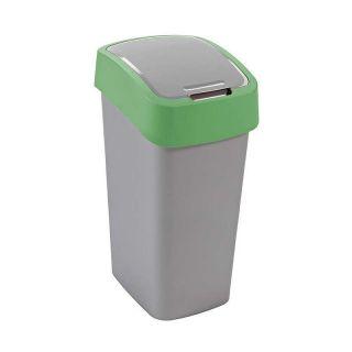 Kosz na śmieci FLIPBIN 50l - zielony CURVER