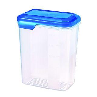 Plastikowy pojemnik FLEXI CHEF niebieska pokrywka CURVER