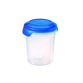 Plastikowy pojemnik FLEXI CHEF 0,5L - niebieski KRZYWA