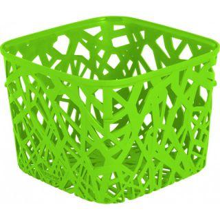 Kosz plastikowy NEO SQUARE - zielony CURVER