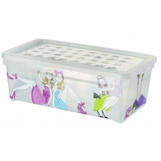 Plastikowe pudełko z pokrywką - S - CURVER