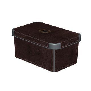 Plastikowe pudełko do przechowywania DECO - S - SKÓRA CURVER