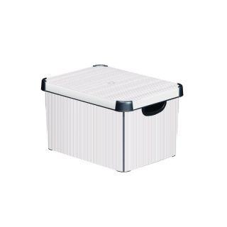 Plastikowe pudełko do przechowywania DECO - L - CLASSICO CUR