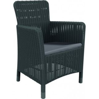 Krzesło plastikowe TRENTON DINING - antracyt