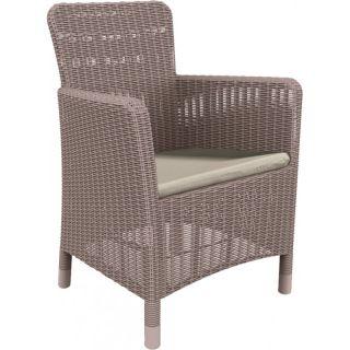 Fotel plastikowy TRENTON DINING - cappuchino