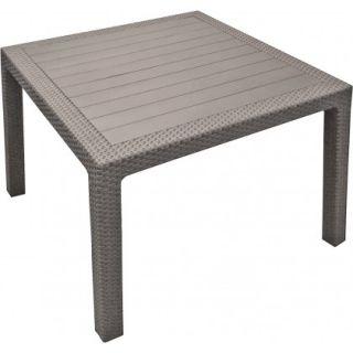 Stół ogrodowy z tworzywa sztucznego MELODY QUARTED