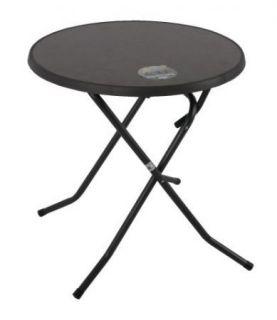Stół metalowy PIZARRA CROSSED ø 70 cm