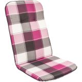 Poduszka na krzesełko wysokie SCALA HOCH -  różowe kostki 10236-330